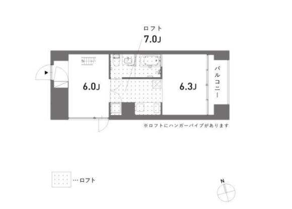 2K マンション 渋谷区 間取り