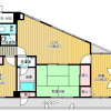 3LDK Apartment to Buy in Osaka-shi Tennoji-ku Interior