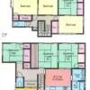 7DK House to Rent in Yokosuka-shi Floorplan