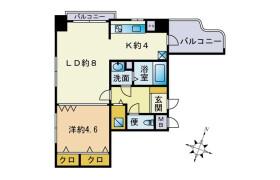 2K Apartment in Narayamachi - Fukuoka-shi Hakata-ku