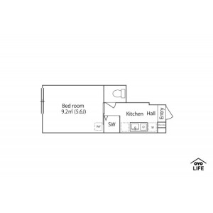 1K Apartment in Itabashi - Itabashi-ku Floorplan