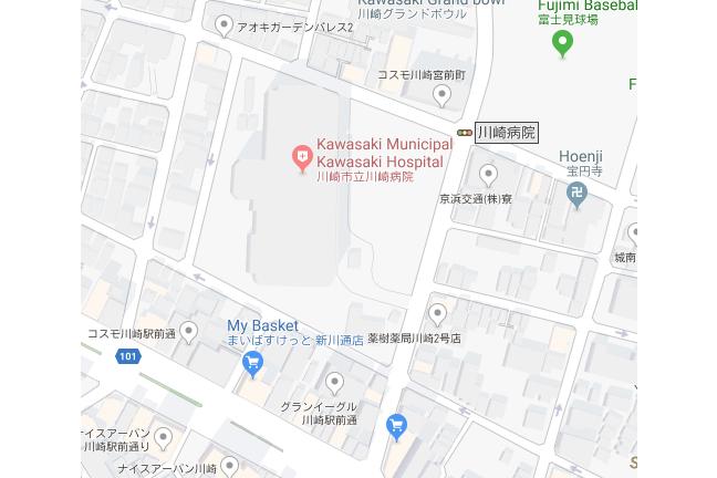 1K マンション 川崎市川崎区 総合病院