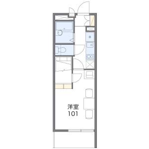 1K Mansion in Minamitanaka - Nerima-ku Floorplan