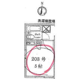 1R Apartment in Nogata - Nakano-ku Floorplan