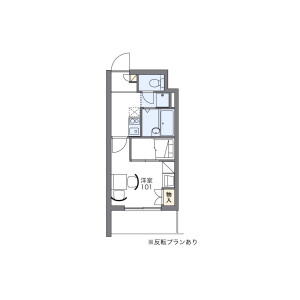 1K Apartment in Honkomagome - Bunkyo-ku Floorplan