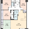 3SLDK Apartment to Buy in Ibaraki-shi Floorplan
