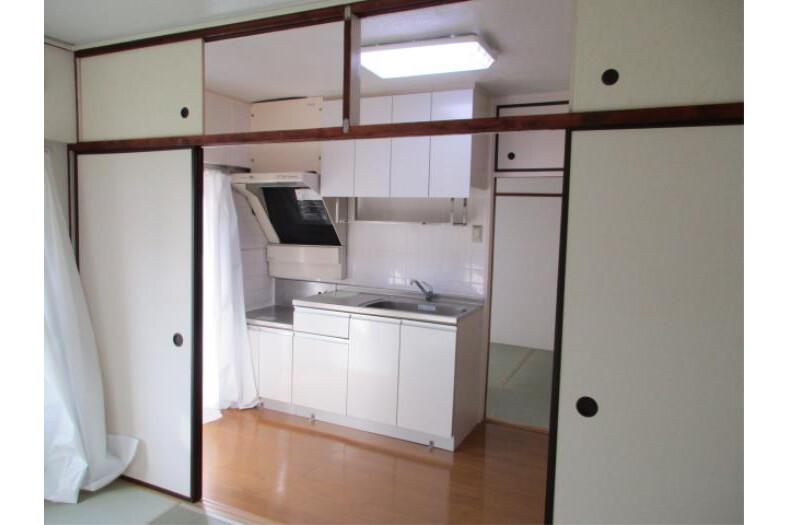 3K アパート 足立区 リビングルーム