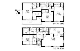 4LDK House in Namiuchimachi - Kitakyushu-shi Wakamatsu-ku