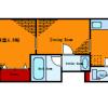 在江東區內租賃1DK 公寓大廈 的房產 房間格局