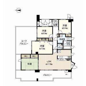 4LDK {building type} in Jingu - Nara-shi Floorplan