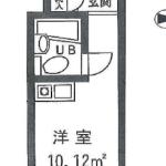 1R アパート