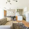 1LDK Serviced Apartment to Rent in Osaka-shi Fukushima-ku Living Room