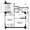 2K Apartment to Rent in Fuwa-gun Sekigahara-cho Floorplan