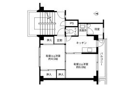 倉敷市児島稗田町-2K公寓大厦