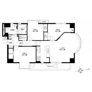 3LDK {building type} in Hongocho - Yokohama-shi Naka-ku Floorplan