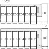 1R Apartment to Rent in Ebina-shi Layout Drawing