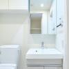 在品川区内租赁1K 公寓大厦 的 盥洗室