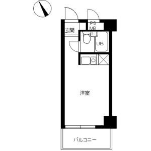 1R Mansion in Seishin - Sagamihara-shi Chuo-ku Floorplan