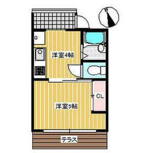 1DK Apartment in Sawatari - Yokohama-shi Kanagawa-ku Floorplan