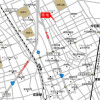 1LDK Terrace house to Rent in Saitama-shi Kita-ku Access Map