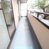 2DK Apartment to Rent in Kawasaki-shi Nakahara-ku Balcony / Veranda