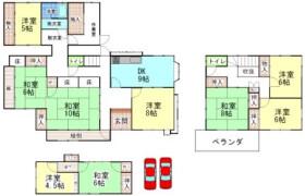 9DK House in Nakajima - Wakayama-shi