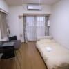 1K マンション 中央区 ベッドルーム