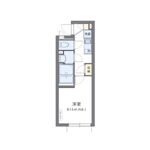 1K Mansion in Tachibana - Sumida-ku Floorplan