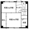 2K Apartment to Rent in Mobara-shi Floorplan