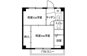 2K Mansion in Wakagicho - Oyama-shi