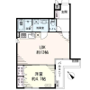 1LDK Apartment to Buy in Setagaya-ku Floorplan