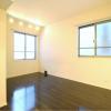 在港区内租赁1R 公寓大厦 的 起居室