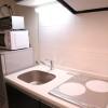 在文京区内租赁1K 公寓大厦 的 厨房