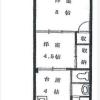 在目黒區內租賃2DK 公寓大廈 的房產 房間格局