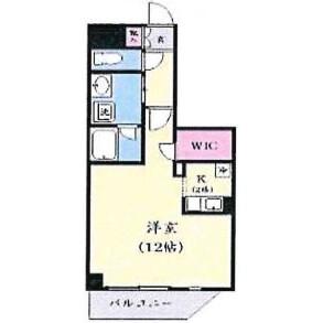 1K Mansion in Matsuhidai - Matsudo-shi Floorplan