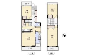 3LDK Terrace house in Kitaterao - Yokohama-shi Tsurumi-ku