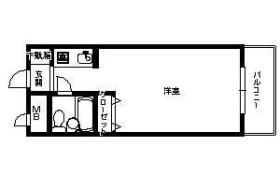 福岡市中央区 - 今泉 大厦式公寓 1R