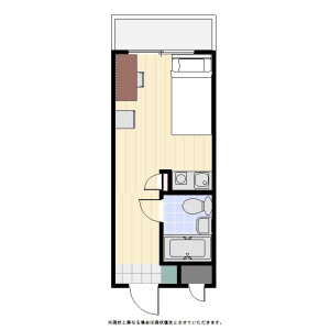 1R Mansion in Sasazuka - Shibuya-ku Floorplan