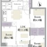3LDK Apartment to Buy in Chuo-ku Floorplan