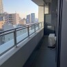 1LDK Apartment to Buy in Shinjuku-ku Balcony / Veranda
