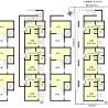 在名古屋市南区购买整栋 公寓的 楼层布局