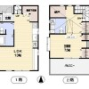 1SLDK House to Rent in Shibuya-ku Floorplan