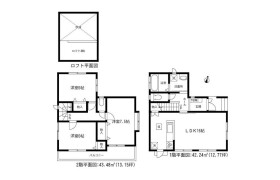 3LDK House in Shirasunacho - Nagoya-shi Mizuho-ku