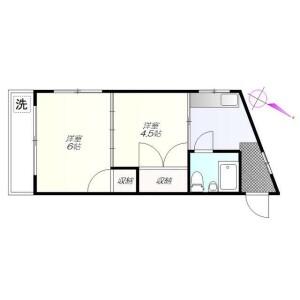 2K Mansion in Sengoku - Bunkyo-ku Floorplan