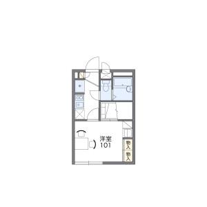 1K Apartment in Tsuruse higashi - Fujimi-shi Floorplan