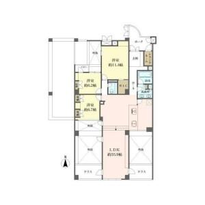 3LDK {building type} in Mino - Mino-shi Floorplan