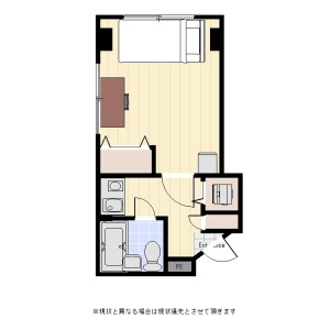 1K Mansion in Taishido - Setagaya-ku Floorplan