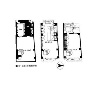 2LDK Mansion in Uehara - Shibuya-ku Floorplan