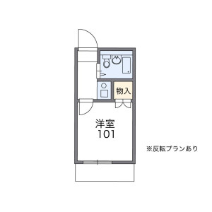 1K Apartment in Yagochi(2-chome) - Edogawa-ku Floorplan