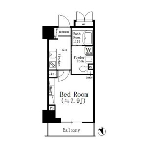 1K Mansion in Ayase - Adachi-ku Floorplan